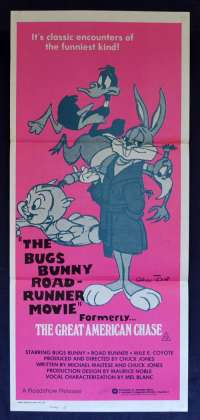 The Bugs Bunny Road Runner Movie 1979 Daybill Movie Poster Chuck Jones Looney Tunes