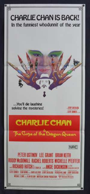 Charlie Chan And The Cruse Of The Dragon Queen Poster Original Daybill