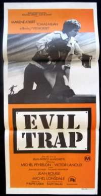 Evil Trap Daybill Movie poster