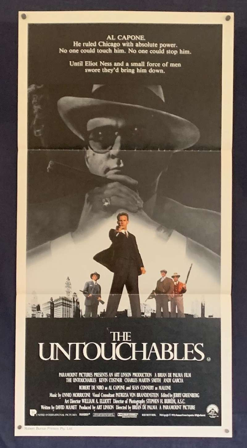 all about movies the untouchables movie poster original