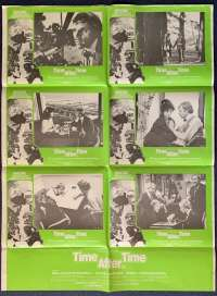 Time After Time 1979 Malcolm McDowall Photosheet movie poster