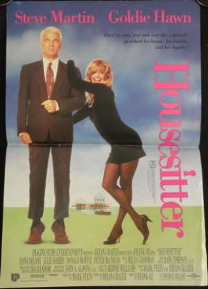 Housesitter Daybill Movie poster