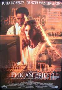 Pelican Brief, The One Sheet Australian Movie poster