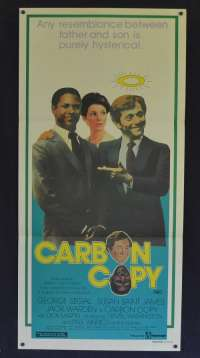Carbon Copy 1981 Daybill movie poster Denzel Washington George Segal