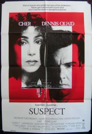Suspect One Sheet Australian Movie poster