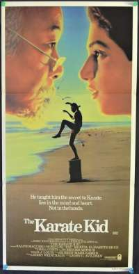 The Karate Kid 1984 Daybill movie poster Ralph Macchio