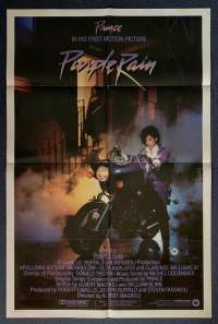 Purple Rain Poster Original USA International One Sheet 1984 Prince