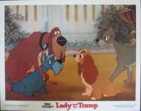 Lady And The Tramp 1955 Lobby Card Disney 1980 Re-Issue