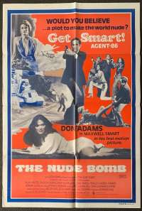 The Nude Bomb 1980 Don Adams Get Smart One Sheet movie poster