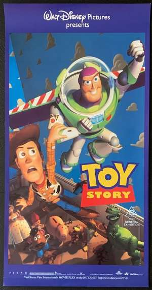 Toy Story movie poster Daybill Tom Hanks Buzz Lightyear