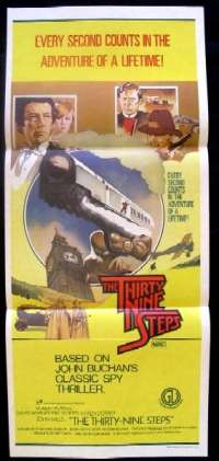 Thirty Nine Steps, The Daybill Movie poster
