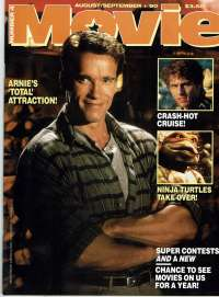 Total Recall Movie Magazine Number 4 Arnold Schwarzegger