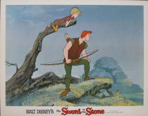 Sword In The Stone, The - Disney Lobby Card No 4