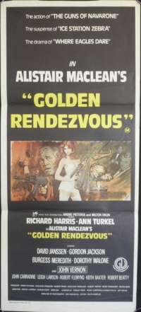 Golden Rendezvous Daybill Movie poster