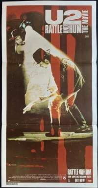 U2 Rattle And Hum The Movie Poster Australian Daybill