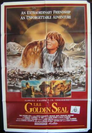 Golden Seal, The One Sheet Australian Movie poster