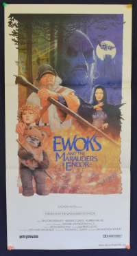 Ewoks And The Marauders Of Endor 1985 Star Wars Daybill movie poster