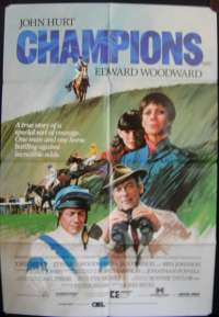 Champions 1984 One Sheet movie poster John Hurt Horse Racing Grand National