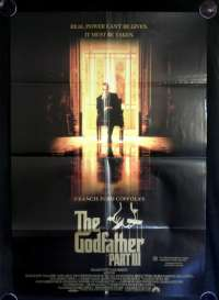 The Godfather Part 3 Poster Original One Sheet Al Pacino