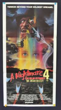 Nightmare On Elm Street 4 Daybill Poster