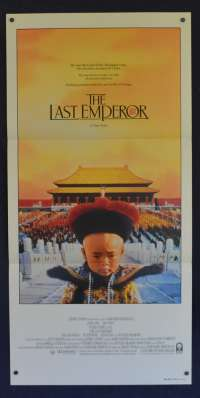 The Last Emperor Movie Poster Daybill John Lone Peter O'Toole Joan Chen