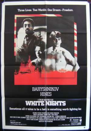 White Nights One Sheet Australian Movie poster