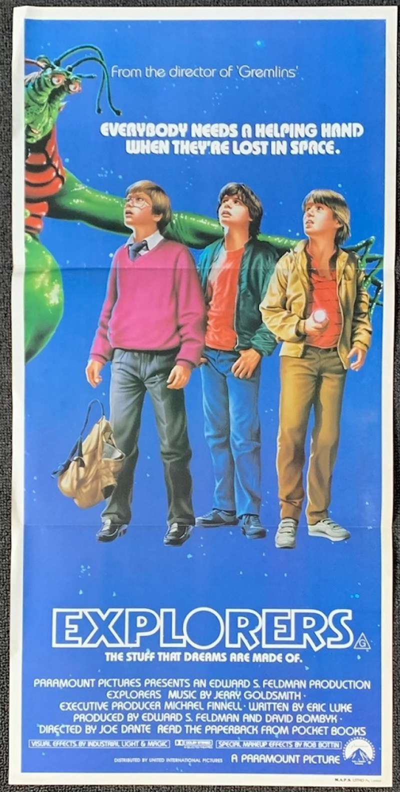 All About Movies - Explorers Poster Ethan Hawke River Phoenix ...