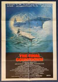 The Final Countdown Poster Original One Sheet USA International 1980