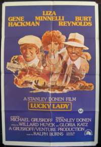 Lucky Lady One Sheet Australian Movie poster