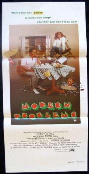 Modern Problems Daybill Movie poster