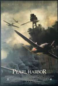 Pearl Harbour 2001 One Sheet ROLLED Movie poster Battleship Artwork