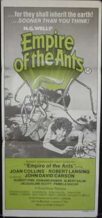 Empire Of The Ants Poster Australian daybill Movie poster