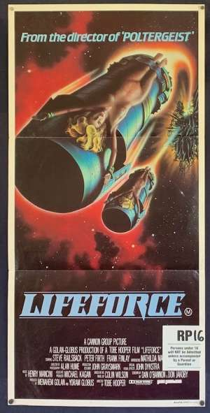 Lifeforce Daybill Movie poster