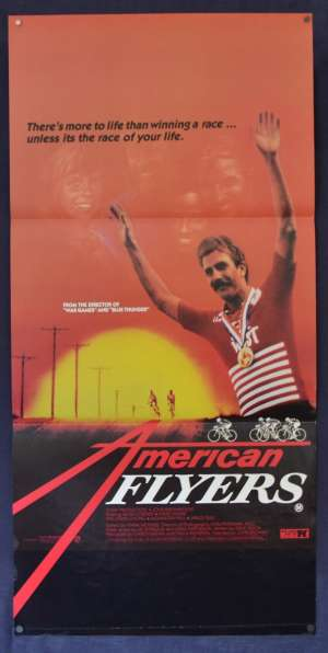 American Flyers Movie Poster Original Daybill 1985 Kevin Costner