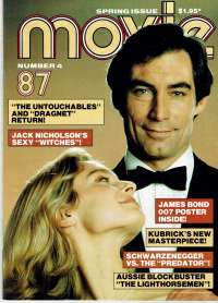 The Living Daylights Movie Magazine 1987 Number 4 Timothy Dalton James Bond