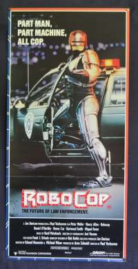 RoboCop Movie Poster Original Rare Daybill 1987 Peter Weller Nancy Allen
