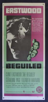 The Beguiled Daybill Poster Original 1971 Clint Eastwood Geraldine Page