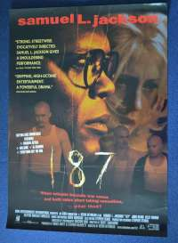 187 movie poster one sheet Samuel L Jackson