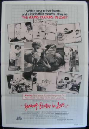 Young Doctors In Love 1982 One Sheet movie poster Sean Young Michael McKean