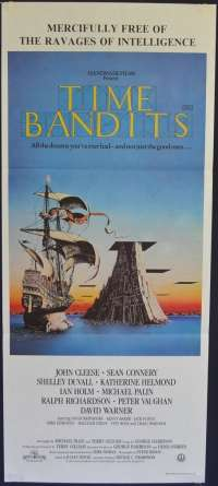 Time Bandits 1981 Daybill movie poster Monty Python