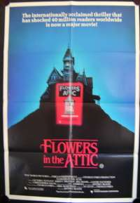 Flowers In The Attic 1987 One Sheet movie poster Kristy Swanson