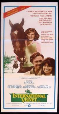 International Velvet Daybill Movie poster