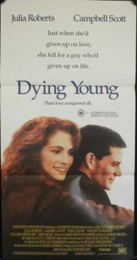 Dying Young Daybill Movie poster