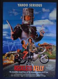 Reckless Kelly 1993 One Sheet movie poster Biker Yahoo Serious Hugo Weaving