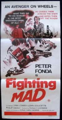 Fighting Mad Daybill Movie poster
