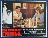 Patrick 1978 Lobby Card No.5 Rare Ozploitation Robert Helpmann