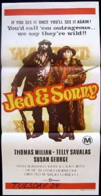 Jed & Sonny Daybill Movie poster