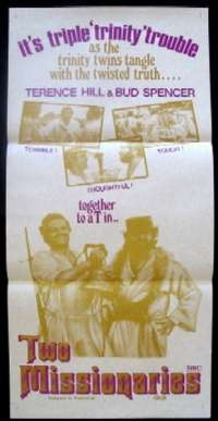 Two Missionaries Daybill Movie poster