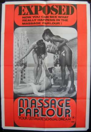 Massage Parlour One Sheet Australian Movie poster