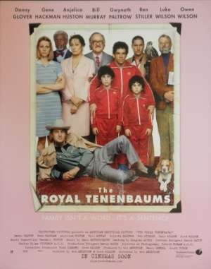 The Royal Tenenbaums Lobby Card USA 11x14 Original Gene Hackman